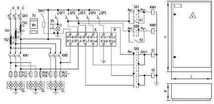 КОМПЛЕКТАЦИЯ И-710.  В общем случае это...  Схема электрическая принципиальная.  Шкаф представляет собой сварной...